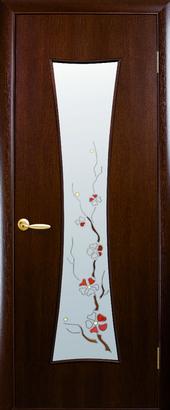 "Дверь Часы Р1 коллекция ""Экошпон Модерн Р"""