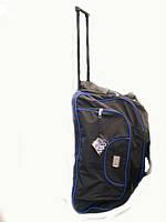 Овальная дорожная сумка на колесах  Elen Fancy 52 см.