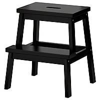 IKEA BEKVAM (301.788.84) Табурет-лестница, черный