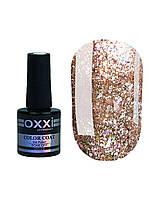 Гель лак Oxxi Star Gel №009 (Светлый золотисто-коричневый , с блестками и слюдой) 10 мл