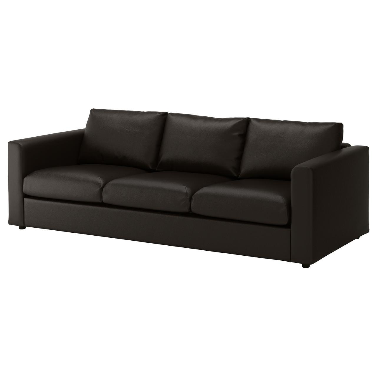 IKEA VIMLE (092.068.84) Трехместный диван, Farsta, темно-синий