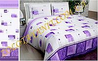 Двуспальный стандарт набор постельного белья в сиреневых тонах