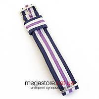 Для часов ремешок тканевый универсальный на 18, 20, 22мм (07000)