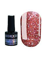 Гель лак Oxxi Star Gel №011 (персиково-розовый, с блестками и слюдой) 10 мл