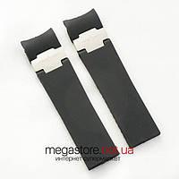 Для часов ремешок Ulysse Nardin maxi marine diver black silver (07051), фото 1
