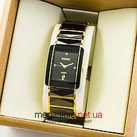 Женские наручные часы Rado integral jubile gold black (07114) реплика, фото 1