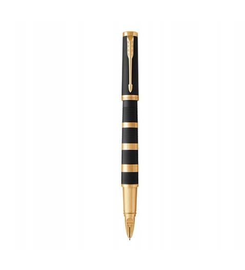 Ручка перьевая Parker Ingenuity Premium Black Rubber & Metal GT Large