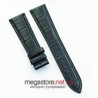 Кожаный ремешок для часов Patek Philippe black 22 мм (07162), фото 1