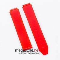 Каучуковый ремешок для часов Hublot big bang woman red (07192), фото 1
