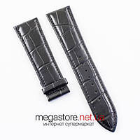 Кожаный ремешок для часов Patek Philippe black 24 мм (07182), фото 1