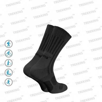 """Трекинговые носки летние ТМ """"Trekking"""" MidLight чёрные 41-43, фото 2"""