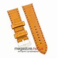 Универсальный кожаный ремешок для часов brown 20мм, 22мм, 24мм (07323), фото 1