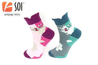 Шкарпетки спортивні жіночі SOI 23-25 р. (36-40) * 632