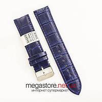 Ремешок из экокожи для часов blue 18мм, 20мм, 22мм, 24мм (07335), фото 1