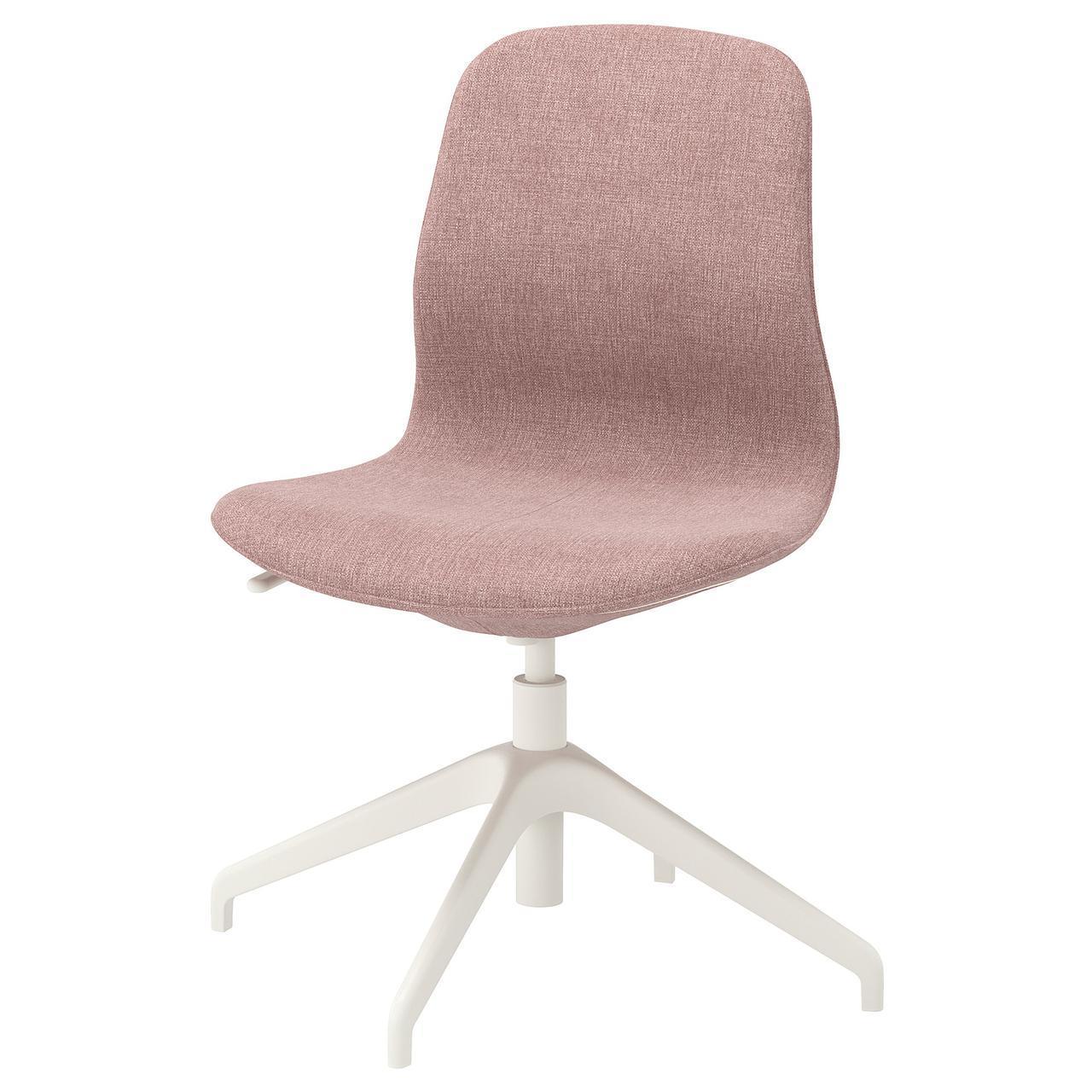 IKEA LANGFJALL (892.523.39) Компьютерное кресло, Gunnared светло-розовый