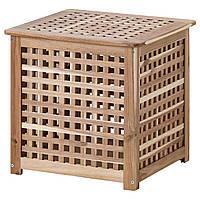 IKEA HOL (701.613.20) Стол, акация