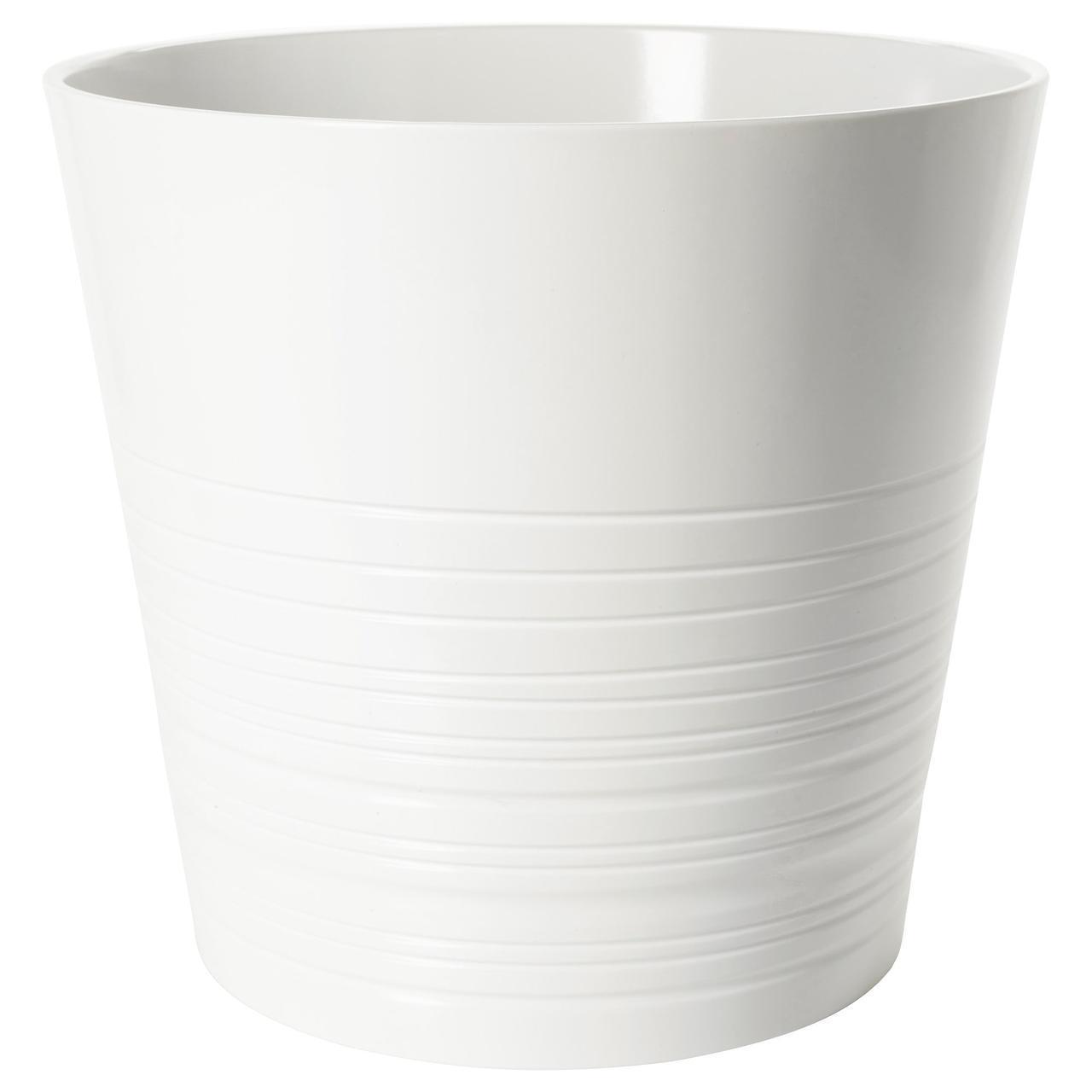 IKEA MUSKOT (903.081.99)  Кашпо, белый