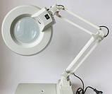 М706 Настільна лампа з лупою LT-86C, фото 2