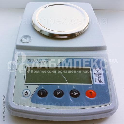 Весы лабораторные ТВЕ-0.3-0.01-а-2
