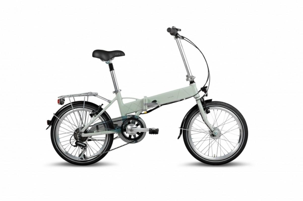 Электровелосипед складной VAUN Egon 20 Grau Германия