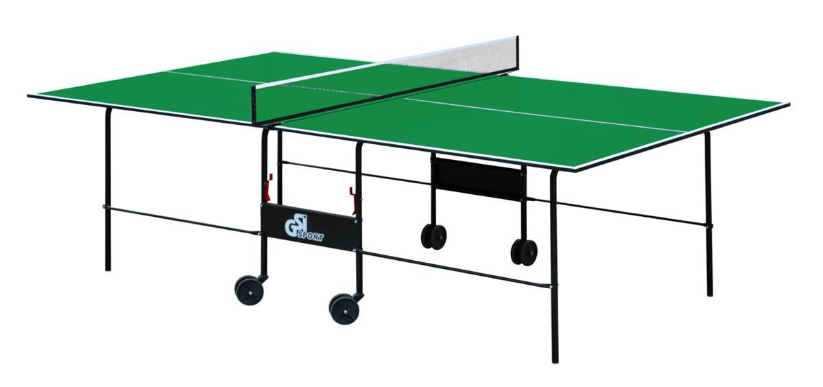 Теннисный стол складной GSI-Sport Athletic Light Зеленый