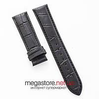 Кожаный ремешок для часов Vacheron Constantin black 21 мм (07470), фото 1