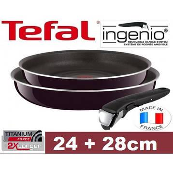 Сковородка TEFAL INGENIO 24-28 см, фото 2