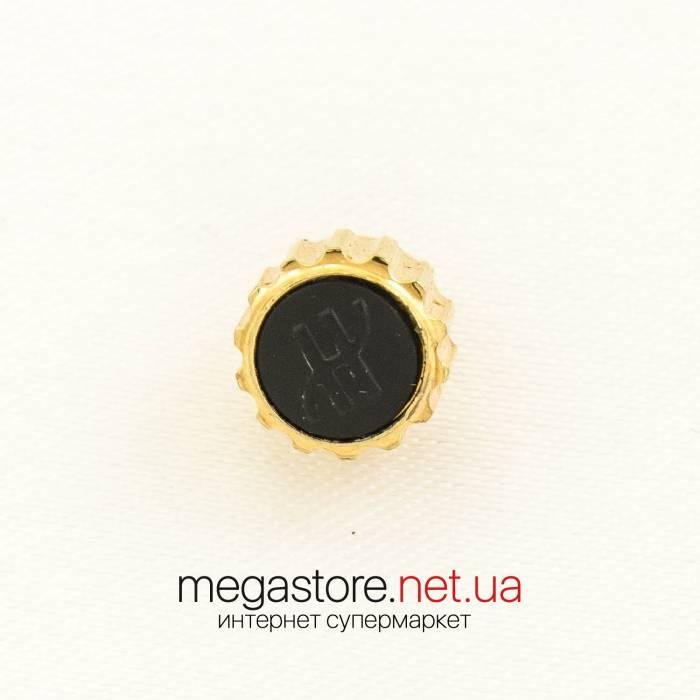 Заводная головка для часов Hublot lemon gold black 8 мм (07491) реплика