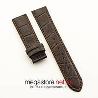Кожаный ремешок для часов Vacheron Constantin brown white 21 мм (07530), фото 1