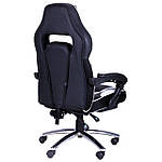 Кресло VR Racer Edge Omega черный/белый, Бесплатная доставка, фото 4