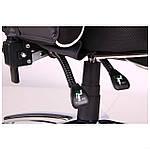Кресло VR Racer Edge Omega черный/белый, Бесплатная доставка, фото 8