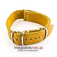 Кожаный ремешок для часов brown 18мм, 20мм, 22мм (07571), фото 1