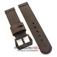 Для часов кожаный ремешок Panerai 22мм, 24мм, 26мм dbbb (07624), фото 1