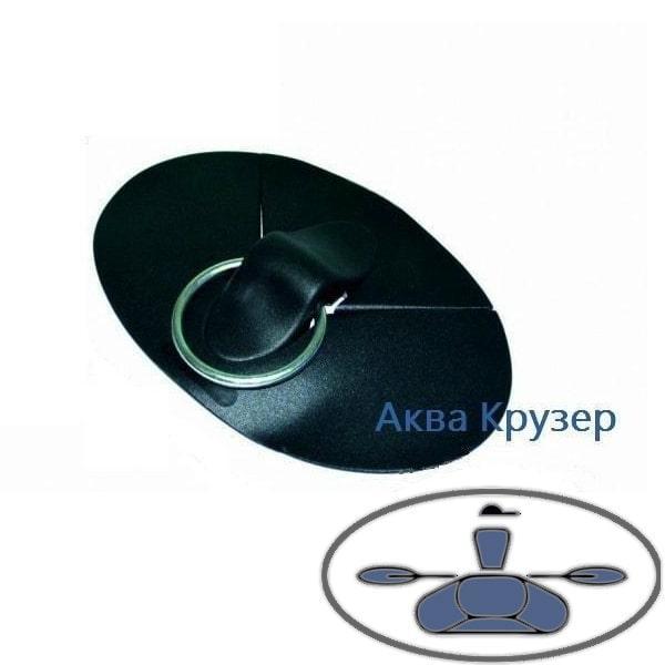 Буксир накладка ПВХ с кольцом из нержавеющей стали для надувных лодок ПВХ