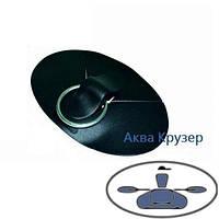 Буксир накладка ПВХ с кольцом из нержавеющей стали для надувных лодок ПВХ, фото 1