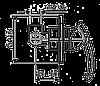 Смеситель для душа EMMEVI RAMSES SC72009 мат-хром, фото 2