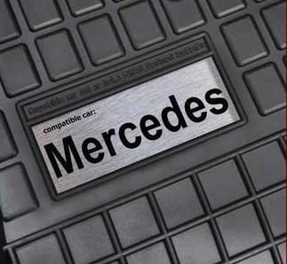 Гумові килимки лого Mercedes W202 W203 W204 ін.