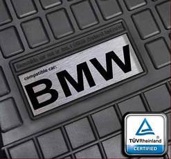 Гумові килимки лого Mercedes W202 W203 W204 ін., фото 3