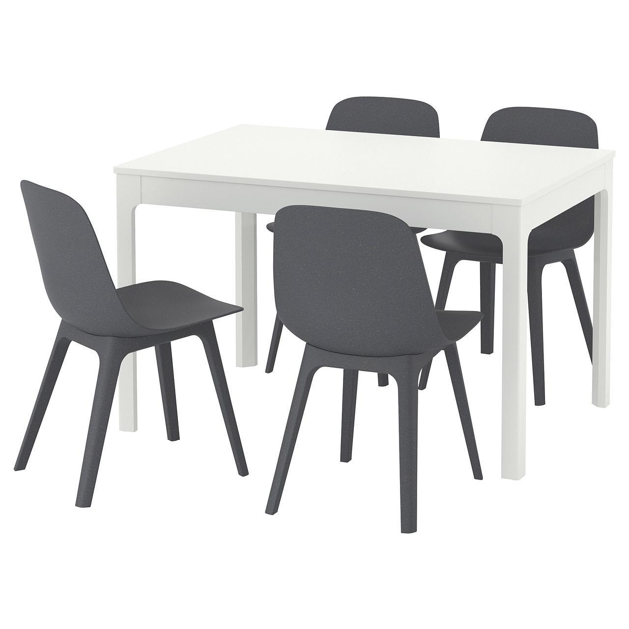 IKEA EKEDALEN / ODGER (692.213.44) Стол и 4 стула, синий