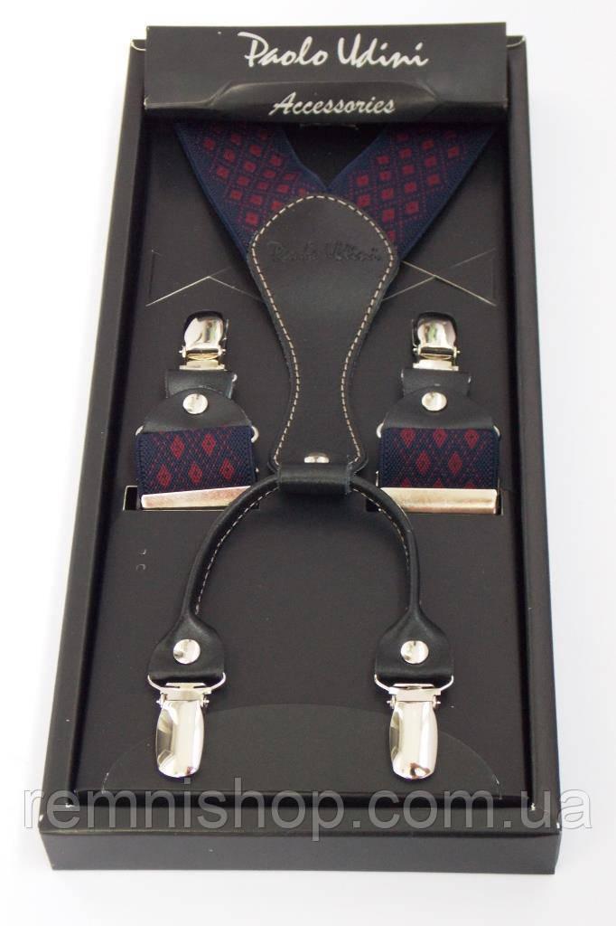 Мужские подтяжки Paolo Udini в подарочной упаковке