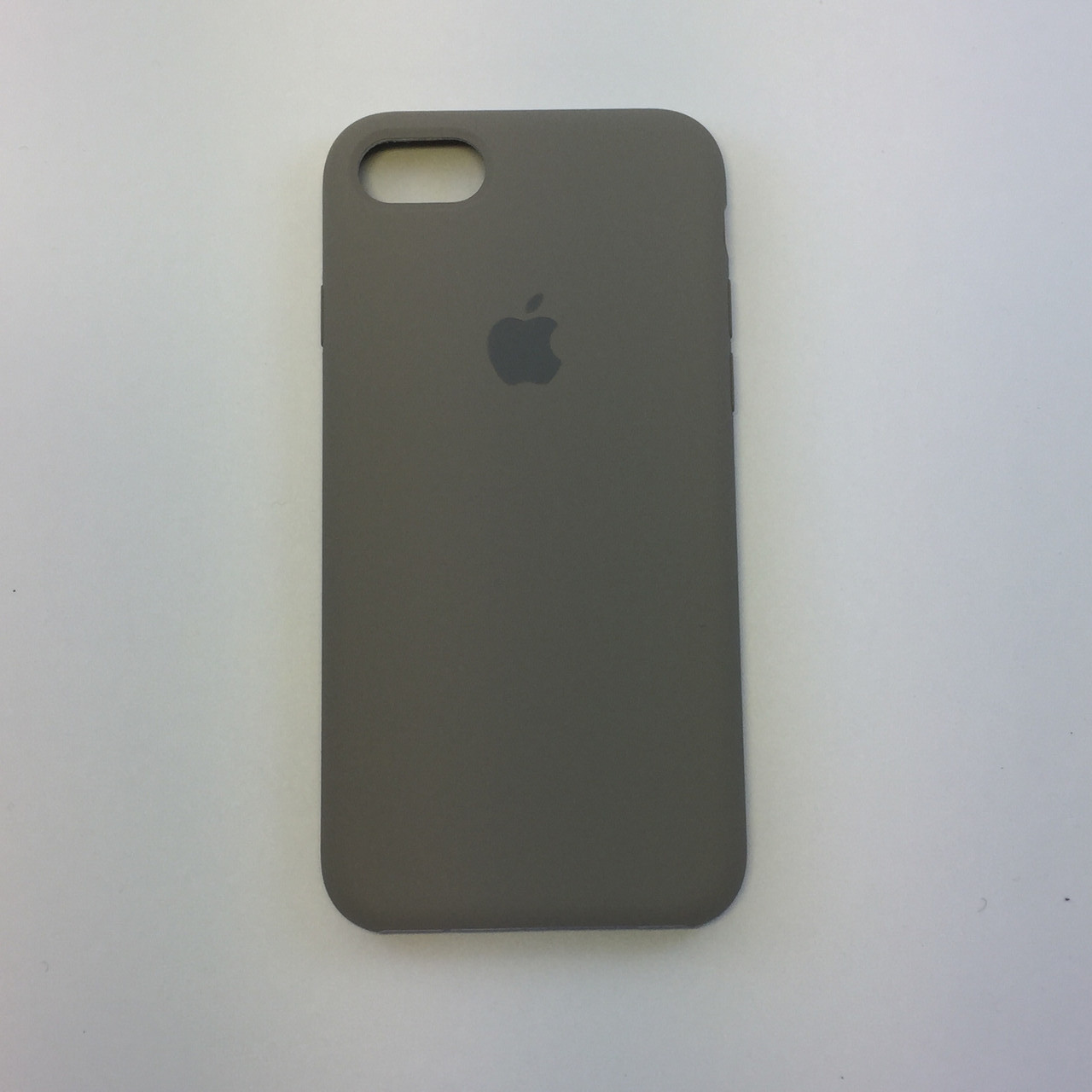 Силиконовый чехол для iPhone 8 Plus, - «темная олива» - copy original
