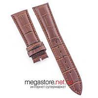 Кожаный ремешок для часов Vacheron Constantin коричневый 18 | 20 | 22 мм (07701), фото 1