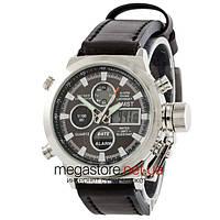 Мужские армейские часы AMST AM3003 сталь (20040)
