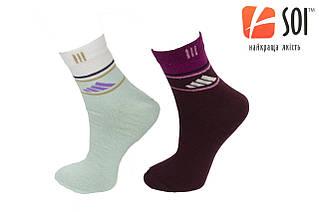 Шкарпетки спортивні жіночі SOI 23-25 р. (36-40) * 574