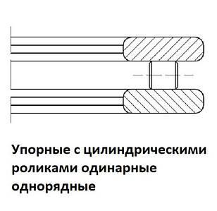 009ХХХ Подшипники роликовые упорные с цилиндрическими роликами одинарные однорядные