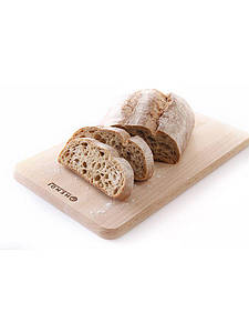 Доска разделочная для хлеба деревянная 340x200xH14 мм Hendi 505007