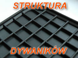 Резиновые коврики FORD FIESTA MK6 02-  с логотипом, фото 2