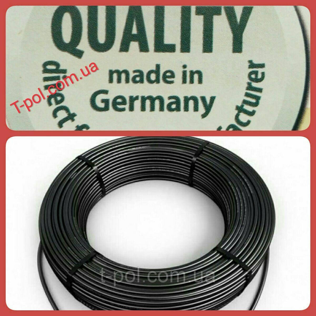 Нагревательный тонкий кабель dr hemstedt 450вт 36м теплый пол на 3 м2