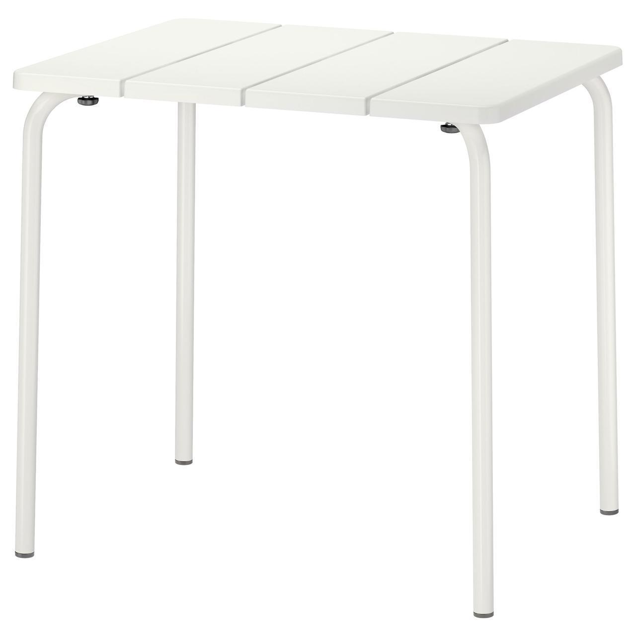 IKEA VADDO (402.595.11) Стол, сад, белый