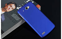 Пластиковый чехол для Lenovo S920 синий